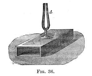 Tuning Fork on Resonance Box