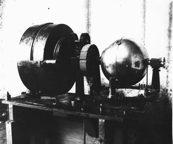 Another view of Globe Motor with a different kind of Dynamo