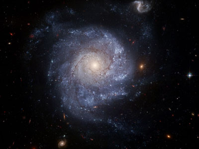 Dark and Light Spiral Arms of a Galaxy