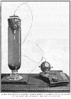 Keely's Levitation Experiment