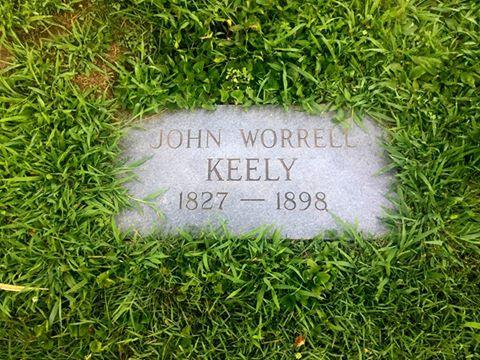 Keely Headstone
