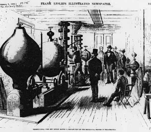 Keely's Original Etheric Vapor Generator