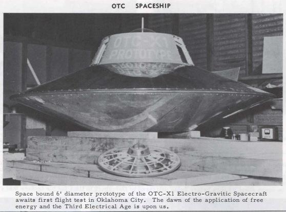 Electro Gravitic Spacecraft