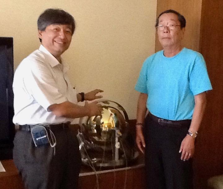 Atlin, Dr. Emoto and Yasuyuki Nemoto