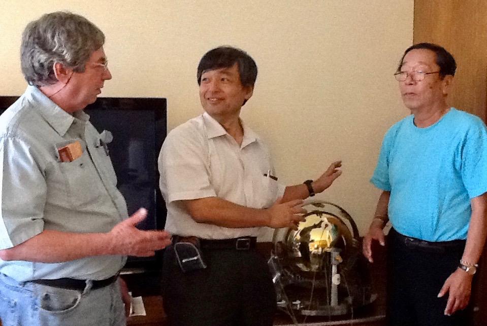 Atlin, Dr. Emoto, Dale Pond and Yasuyuki Nemoto
