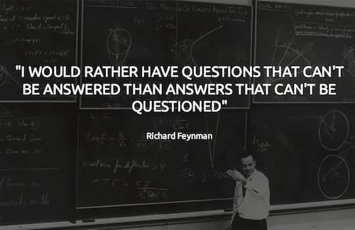 Feynman Questions
