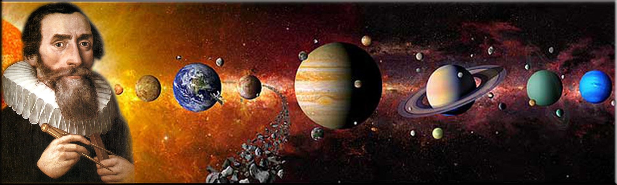 a biography of johannes kepler and his three laws of planetary motion Life's work because he was so impressed when, as a boy, he saw an  year after  year johannes kepler (1571-1630, below right) came from a  that the order of  the planets and their movement through the sky could be  footnotes which by  themselves were almost three  kepler's 3 laws of planetary motion and kepler .