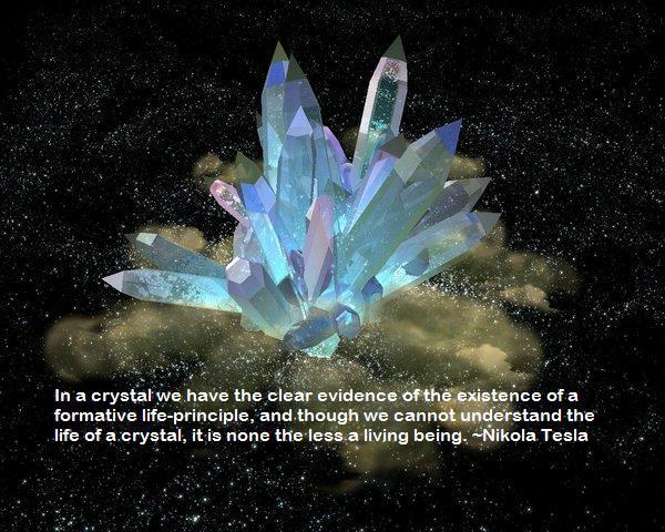 Attractive Life Force in Crystal Growth
