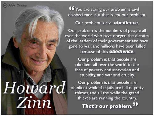 The Problem is Unquestioning Obedience