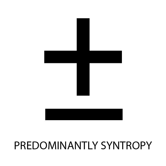 Predominantly Syntropy