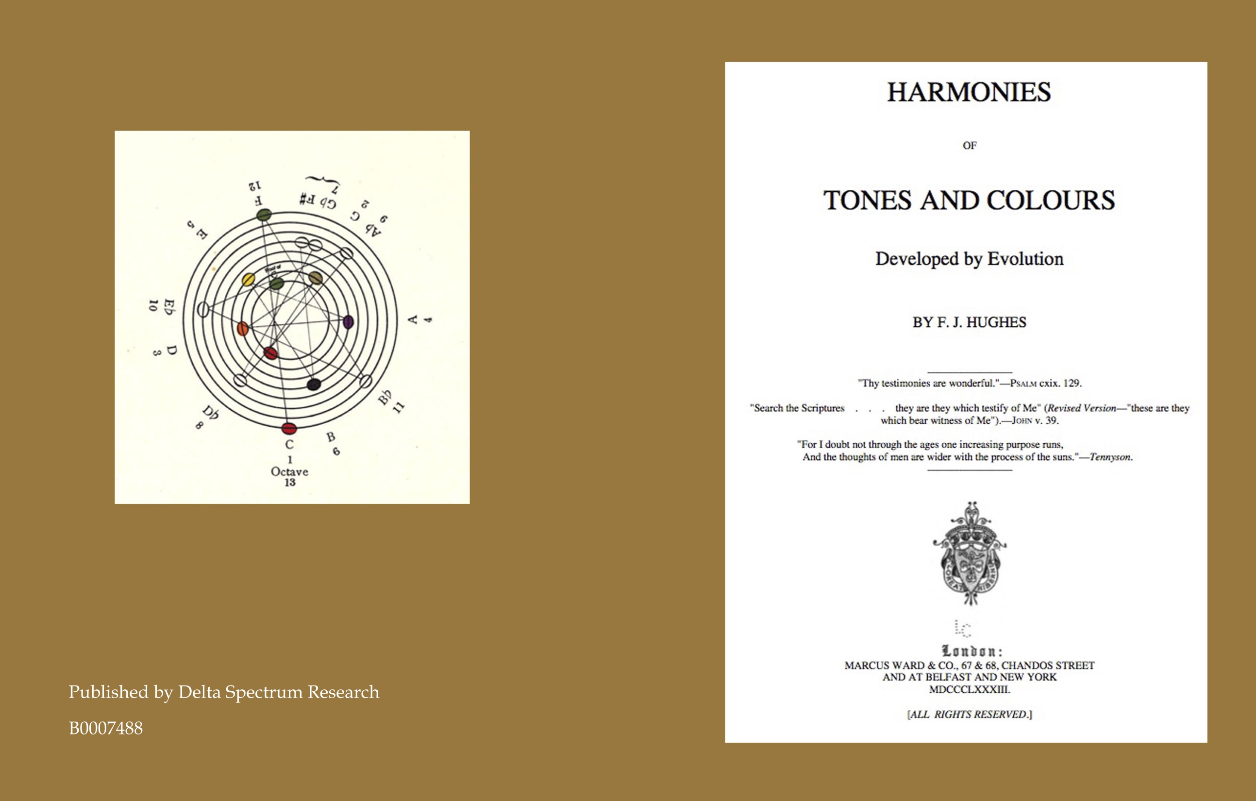 Harmonies of Tones and Colours - Developed by Evolution