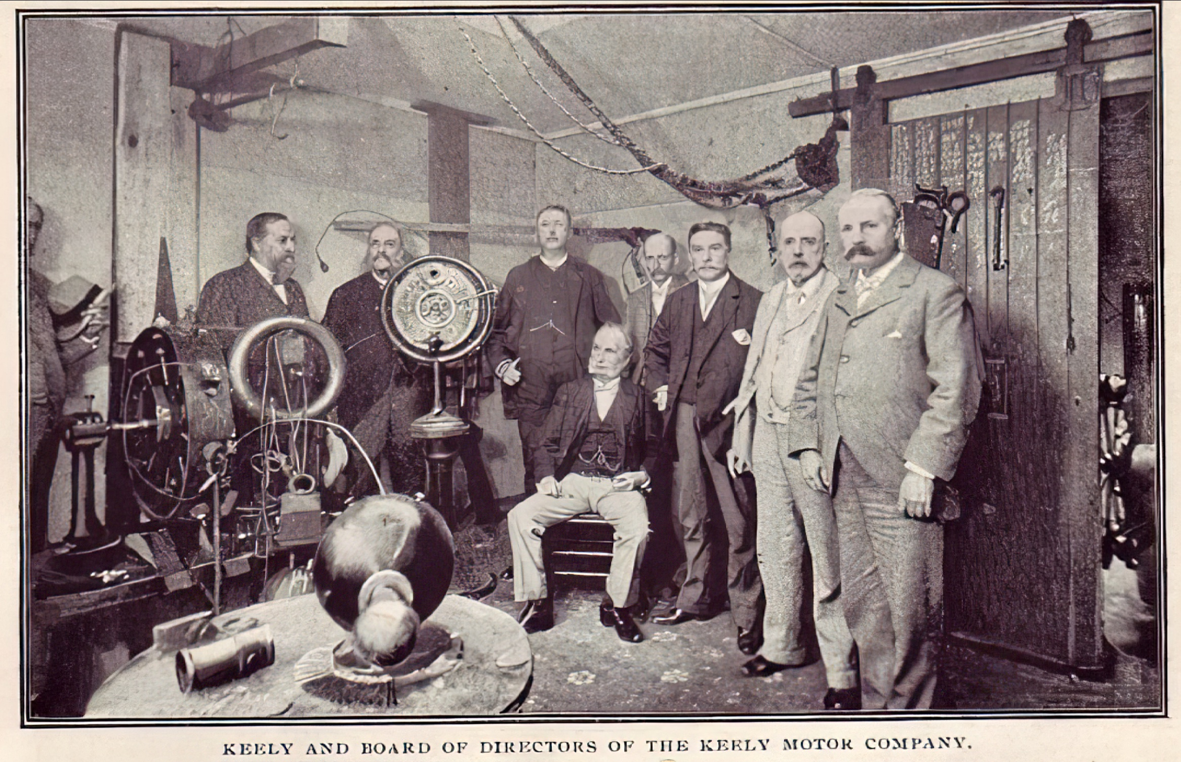 Keely Motor Company Board of Directors