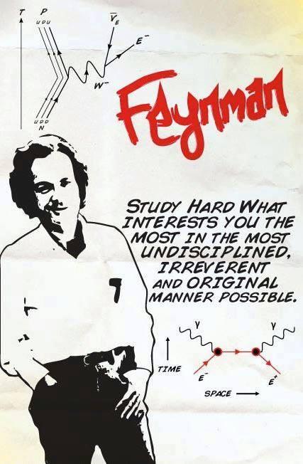Feynman quote