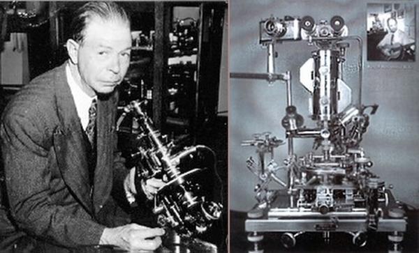 Royal Raymond Rife and his Microscope