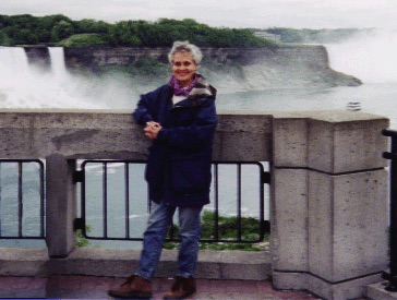 Dr. Dawn Stranges at Niagara Falls