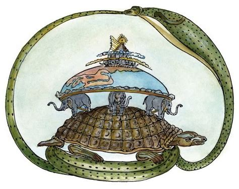 ((earth)) on Turtle